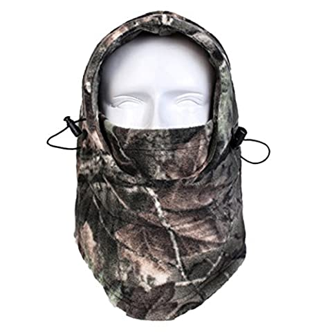 Panegy Masque Cagoule au Chaud en Laine Polaire Équipement Militaire