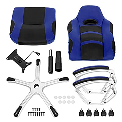 langria PU Office Chair Gaming Racer Class - inexpensive UK light store.
