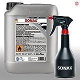 SONAX Gomma Cura Pneumatici 5L 03405050+ Gratis A Spruzzo Boy a spruzzo Bottiglia 04997000