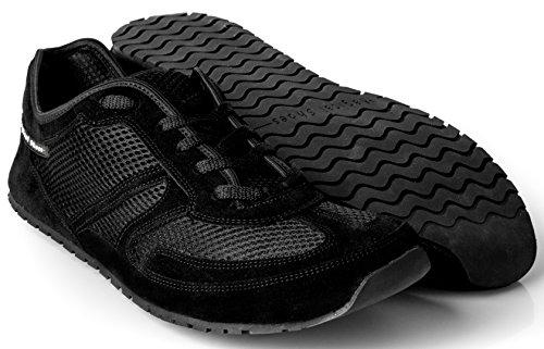 Magical Shoes - Explorer Scarpe a Piedi Nudi | Donne | Uomini | Ragazzi | Scarpe da Corsa | Zero Drop | Flessibile | Antiscivolo, Größe:42 / 270mm, Farbe:MS Explorer Classic - Nero