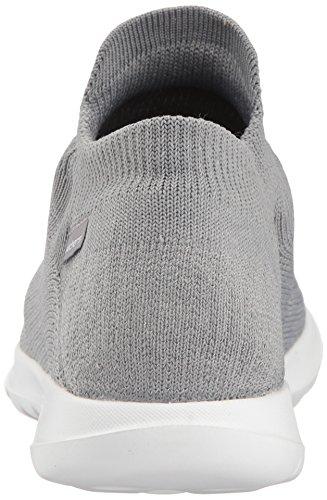 Skechers Damen Go Walk Lite Slip On Sneaker Grau (grigio)