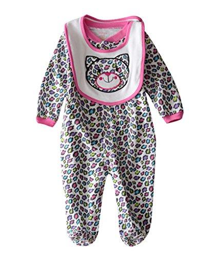 M2C Baby Jungen Mädchen Kleidung Strampler Schlafanzug Leopard 68/74 Leoparden-strampler
