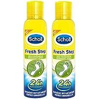 Scholl Spray fraîcheur déodorant pieds 150 ml - Lot de 2