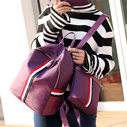 Bovake - Borsa a tracolla Ragazza donna Purple