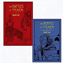 tolkien collection 2 books set by david day (an atlas of tolkien, the heroes of tolkien [flexibound])
