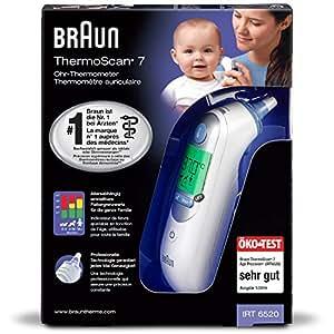 Braun IRT6520 ThermoScan 7 Age Precision – Termometro Auricolare a Infrarossi