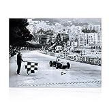Stirling Moss Signé Formula One Photo: Grand Prix de Monaco...