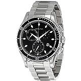 Hamilton Hamilton Jazzmaster Seaview Nero Quadrante Cronografo Mens Orologio H37512131