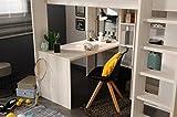 Wohnorama 90x200 Hochbett inkl integrierter Schreibtisch u Schrank Higher 1b von Parisot Nordische Esche by - 5