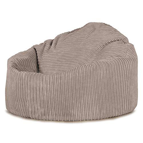 Lounge Pug®, \'Mini-Mammoth\' Sitzsack, Sessel, Cord Nerzfarben