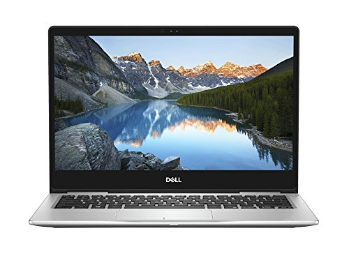 Dell Inspiron 13 7370 33,8 cm (13,3 Zoll FHD) Laptop (Intel Core i5-8250U, 8GB RAM, 256GB SSD, Intel UHD 620, Windows 10 Home) platin silber (Dell Laptop Solid State Drive)