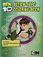Ben10- Action-Hero Coloring Book