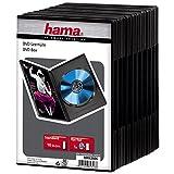 Hama DVD-Leerhülle mit Folie, 10er-Pack, Schwarz