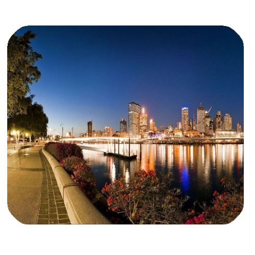 rettangolo-gomma-antiscivolo-brisbane-australia-evening-river-mouse-pad-gaming-mouse-pad-office-mous