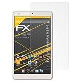atFolix Schutzfolie für Huawei MediaPad M3 8.4 Displayschutzfolie - 2 x FX-Antireflex blendfreie Folie