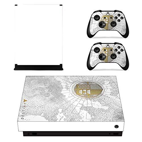 Adventure Games - Xbox One X - Destiny Spec. Ed. Vinyl-Aufkleber für Konsole und 2 Controller-Skins (Xbox Destiny One Controller Skin)