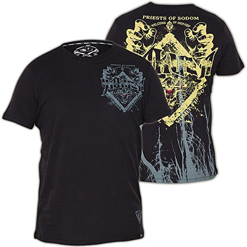 Yakuza T-Shirt TS-30 Schwarz Schwarz