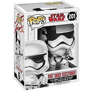 Star Wars Figura Vinilo Episode 8 The Last Jedi First Order Executioner Bobble Head 201 Figura de coleccin
