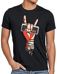style3 Classic Rock T-Shirt Homme NES Controller Manette de Jeu 8-Bit Console Jeux