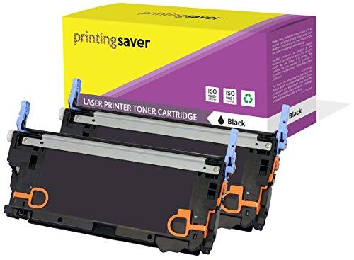 Printing Saver 2X SCHWARZ Toner kompatibel für HP Color Laserjet 3600, 3600dn, 3600n, 3800, 3800dn, 3800dtn, 3800n, CP3505, CP3505dn, CP3505n, CP3505x drucker - Laserjet 3800 Drucker