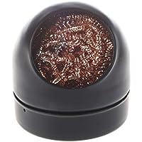 REFURBISHHOUSE Limpieza de punta de hierro del soldador Bola de limpiador de boquilla de alambre con sostenedor de almacenamiento