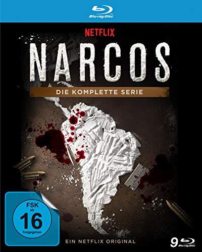 NARCOS - Die komplette Serie (Staffel 1 - 3) [Blu-ray]