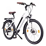51Kf2heu7dL. SS150 NCM Milano Bicicletta elettrica da Trekking, 250W, Batteria 48V 13Ah 624Wh