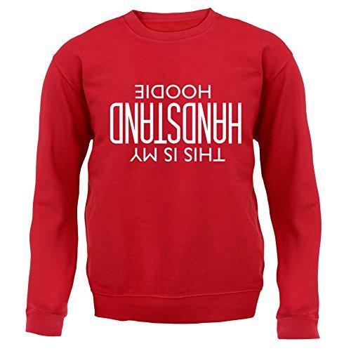 Das ist mein Handstand Hoodie - Unisex Pullover/Sweatshirt - 8 Farben Rot
