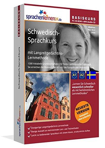 Sprachenlernen24.de Schwedisch-Basis-Sprachkurs: PC CD-ROM für Windows/Linux/Mac OS X + MP3-Audio-CD für MP3-Player. Schwedisch lernen für Anfänger. Sprachen Lernen Software