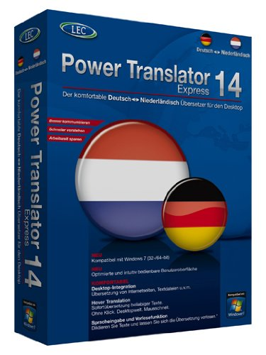 Power Translator 14 Express - Deutsch-Niederländisch (Mini-Box)