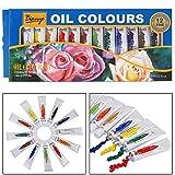 Bianyo - Set di tubetti di colori acrilici di qualità artistica, tubetti da 12 ml, 12 tonalità Oil Color Tubes Multi#3