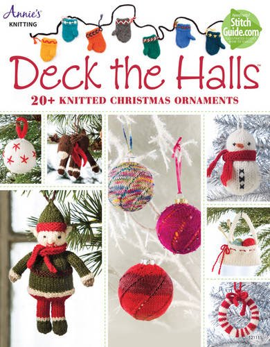 Deck Halls Christmas Ornaments Knitting