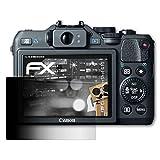 atFoliX Blickschutzfilter für Canon PowerShot G15 Blickschutzfolie - FX-Undercover 4-Wege Sichtschutz Displayschutzfolie