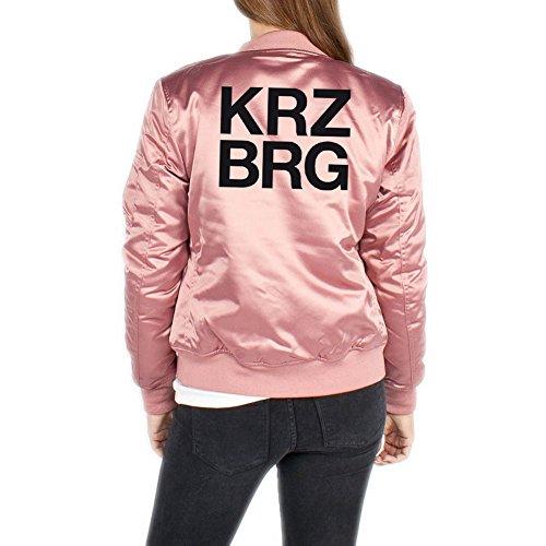 Kreuzberg Bomberjacke Girls Rosa Certified Freak-L