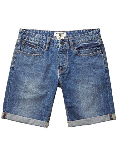 Billabong Herren Straight F.5 Pockets Walkshorts Salty Wash