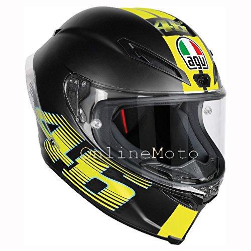 Preisvergleich Produktbild AGV Corsa-R V46 matt schwarz Motorradhelm