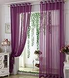 Yushi Window Screening Vorhang für Wohnzimmer Schlafzimmer Vorhang, 2 Panels, 2.5 * 2.5m