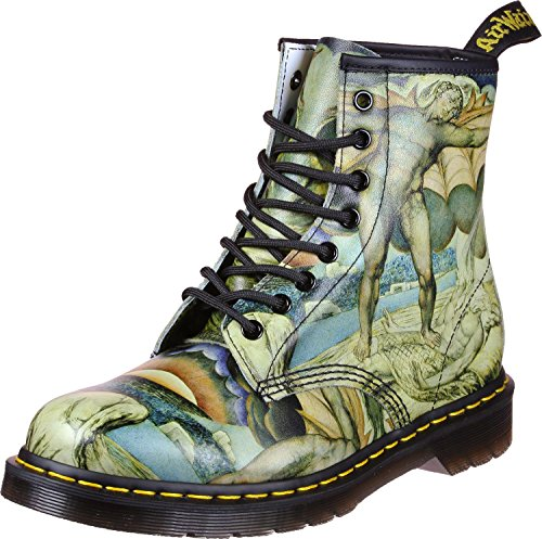 Dr. Martens 1460Z DMC G-B Herren Stiefel White Backhand/William Blake
