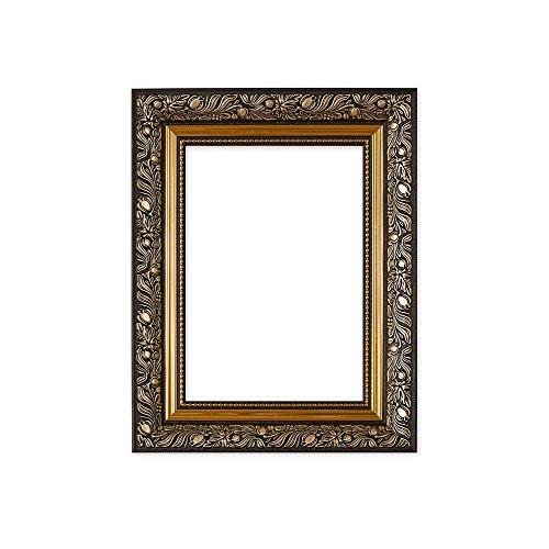 Ornate spazzato cornice/foto/poster stile antico stile francese, dimensioni: 58mm di larghezza e 38mm di profondità, con un