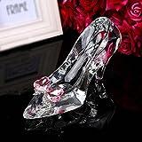 Regalo Cenicienta tacón alto Zapatos de cristal enviar novia Cumpleaños día de San Valentín...