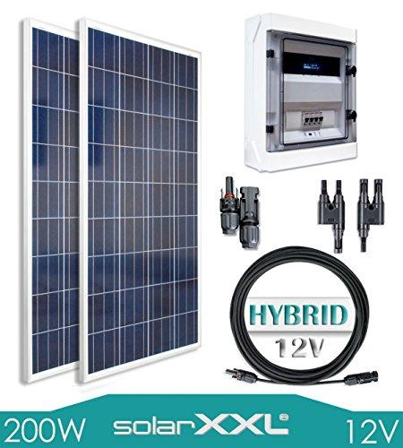 200W Poly Hybrid Lithium-Ionen Komplettset