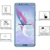 Tempered Glass For Huawei Honor 9 Lite, Case Creation (TM) Transparent Crystal Ultra Clear Full Body 0.33mm 9H Explosion Proof Full Glue Tempered Glass 2.5D Curve Edges Scratch Shock Resistant Tempered Glass For Huawei Honor 9 Lite /Huawei Honor 9Lite / H