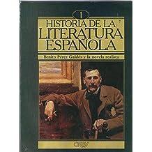 Historia de la literatura española numero 01