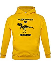 Paleontologists Dig Dinosaurs - Childrens / Kids Hoodie - 7 Colours - Ages 1-13 Years