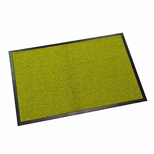 DEMA Schmutzfangmatte Twister 60x90 cm lime