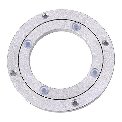 Heavy Duty Aluminium Legierung Rotierende Lager Turntable Runde Speisetisch Smooth Swivel Plate ( Abmessung : 4inch )