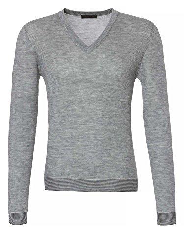 PRADA Milano Uomini Pullover grigio 56/XXL