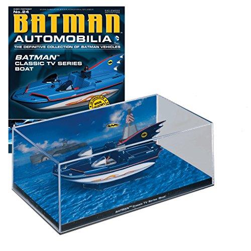 DC Comics - Batman Automobilia Collection Vehículos de Batman Nº 24 Batman Classic Tv Show Boat