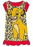 Disney Princess & Tv Character Mädchen Nachthemd Mit König Der Löwen, Aladdin, Cinderella, Paw Patrol, Little Mermaid   Kindernachtwäsche Mit Prinzessinnen (9/10 Jahre, Der König der Löwen)