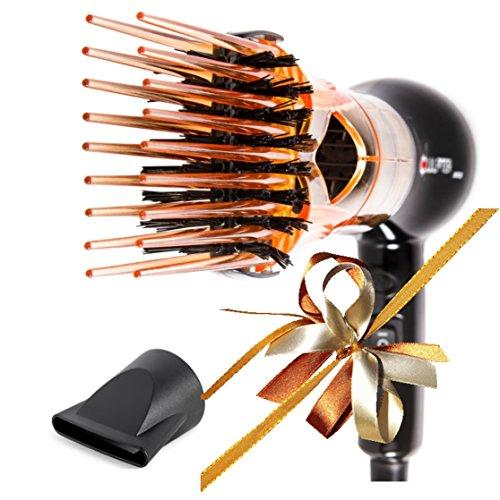 Xculpter Wild - Secador alisador - 1 cepillo - Color Naranja